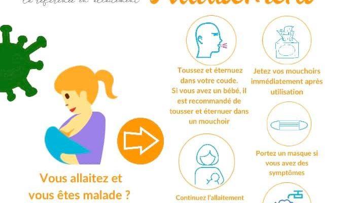 Informations Allaitement et Coronavirus